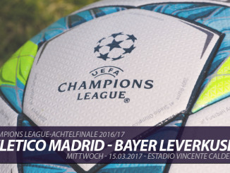 Champions League Tickets: Atletico Madrid - Bayer Leverkusen, 15.3.2017