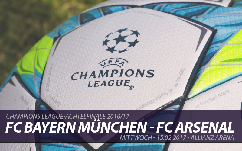 Champions League Tickets: FC Bayern - FC Arsenal, 15.2.2017