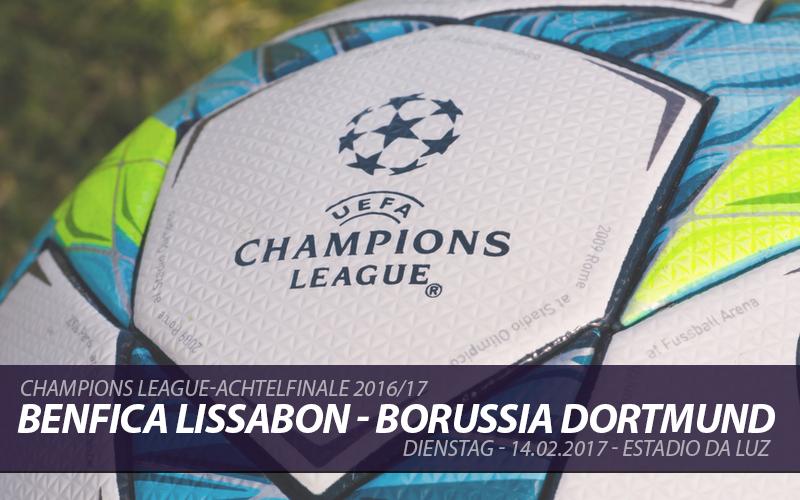 Champions League Tickets: Benfica Lissabon - Borussia Dortmund, 14.2.2017