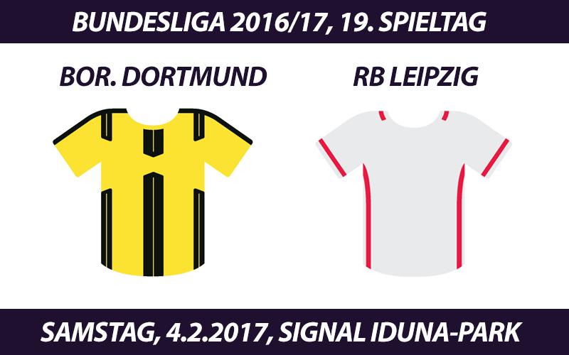 Bundesliga Tickets: Borussia Dortmund - RB Leipzig, 4.2.2017