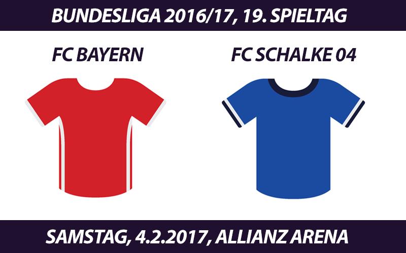 Bundesliga Tickets: FC Bayern München - FC Schalke 04, 4.2.2017
