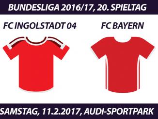 Bundesliga Tickets: FC Ingolstadt 04 - FC Bayern München, 11.2.2017