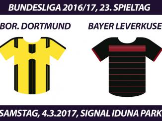 Bundesliga Tickets: Borussia Dortmund - Bayer Leverkusen, 4.3.2017
