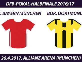 DFB-Pokal Tickets: FC Bayern München - Borussia Dortmund, 26.4.2017