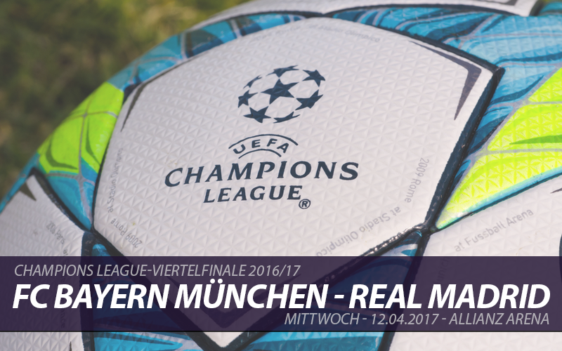 Champions League Tickets: FC Bayern München - Real Madrid, 12.04.2017
