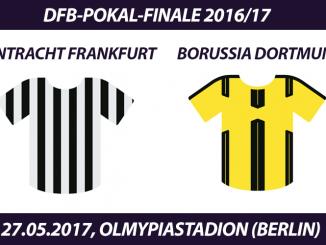DFB-Pokal Tickets: Eintracht Frankfurt - Borussia Dortmund, 27.5.2017 (Finale)