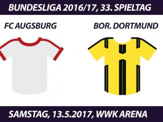 Bundesliga Tickets: FC Augsburg - Borussia Dortmund, 13.5.2017