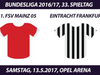 Bundesliga Tickets: 1. FSV Mainz 05 - Eintracht Frankfurt, 13.5.2017
