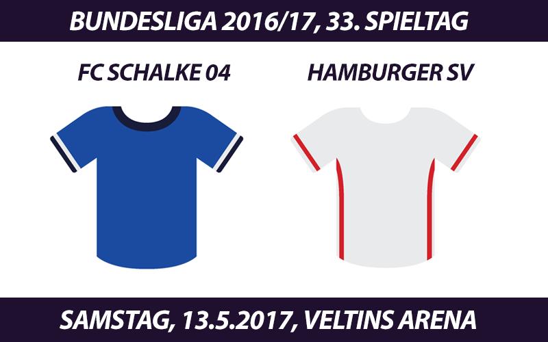 Bundesliga Tickets: FC Schalke 04 - Hamburger SV, 13.5.2017