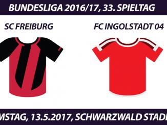 Bundesliga Tickets: SC Freiburg - FC Ingolstadt 04, 13.5.2017