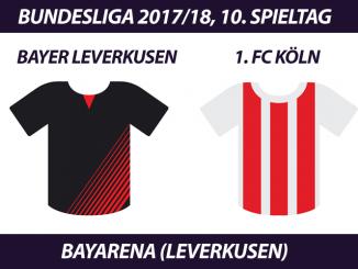 Bundesliga Tickets: Bayer Leverkusen - 1. FC Köln, 10. Spieltag