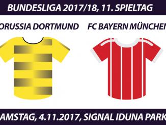 Bundesliga Tickets: Borussia Dortmund - FC Bayern München, 4.11.2017