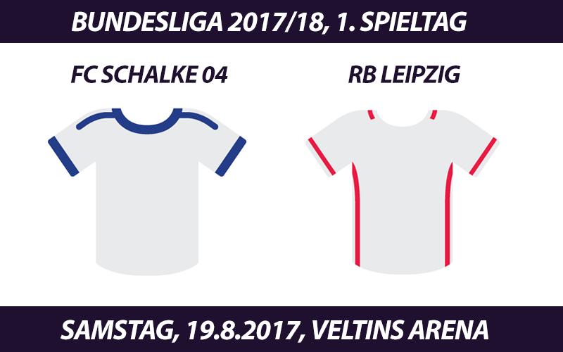 Bundesliga Tickets: FC Schalke 04 - RB Leipzig, 19.8.2017