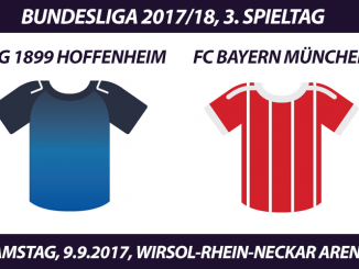 Bundesliga Tickets: FC Bayern - TSG 1899 Hoffenheim, 9.9.2017