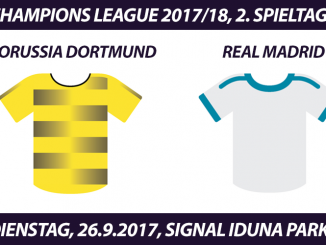 Champions League Tickets: Borussia Dortmund - Real Madrid, 26.9.2017