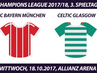 Champions League Tickets: FC Bayern - Celtic Glasgow, 18.10.2017