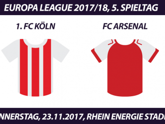 Europa League Tickets: 1. FC Köln - FC Arsenal, 23.11.2017
