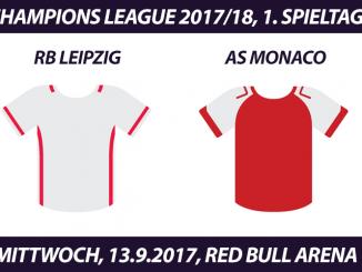 Champions League Tickets: RB Leipzig - AS Monaco, 13.9.2017