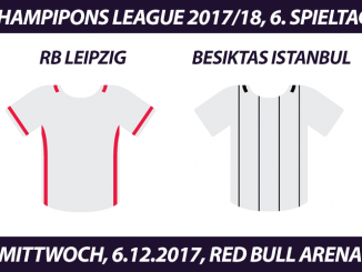 Champions League Tickets: RB Leipzig - Besiktas Istanbul, 06.12.2017