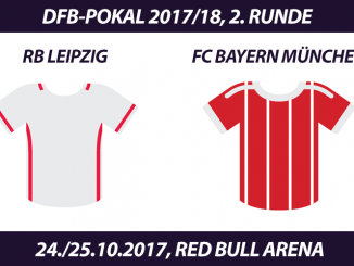 DFB-Pokal Tickets: RB Leipzig - FC Bayern München, 24./25.10.2017