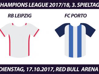 Champions League Tickets: RB Leipzig - FC Porto, 17.10.2017