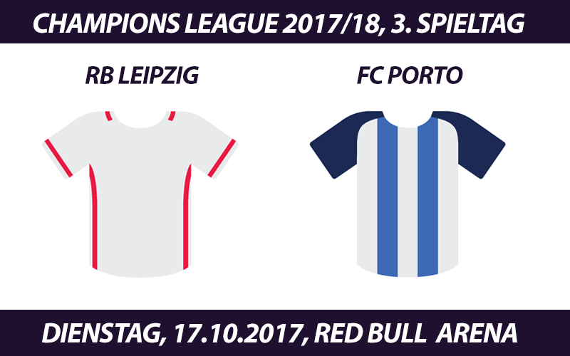 Champions League Tickets: RB Leipzig - FC Porto, 17.10.2017