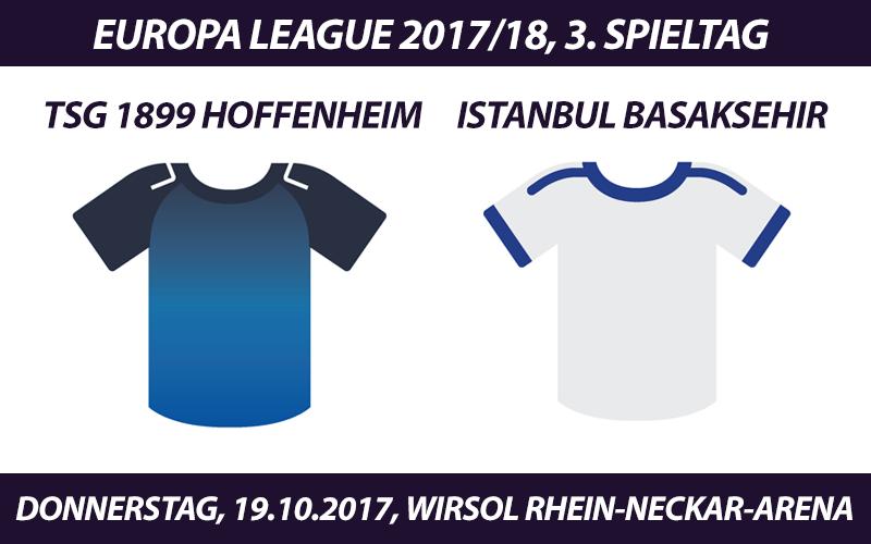 Europa League Tickets: TSG 1899 Hoffenheim - Istanbul Basaksehir, 19.10.2017