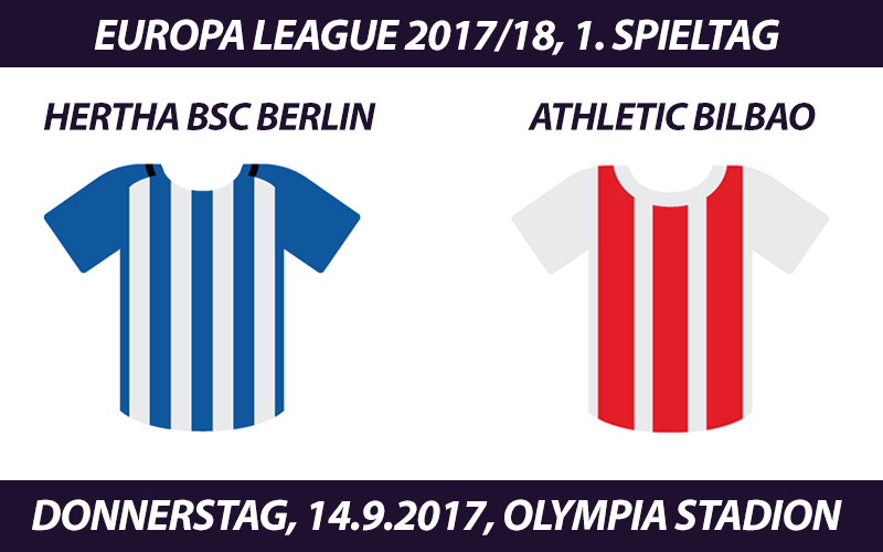 Europa League Tickets: Hertha BSC Berlin - Athletic Bilbao, 14.09.2017