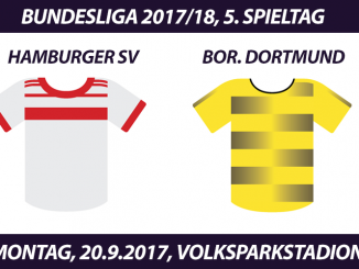 Bundesliga Tickets: Hamburger SV - Borussia Dortmund, 20.9.2017