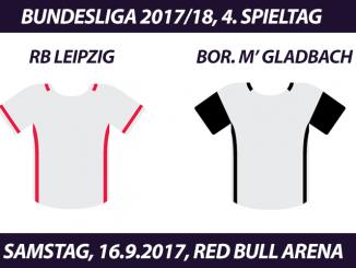 Bundesliga Tickets: RB Leipzig - Borussia Mönchengladbach, 16.9.2017