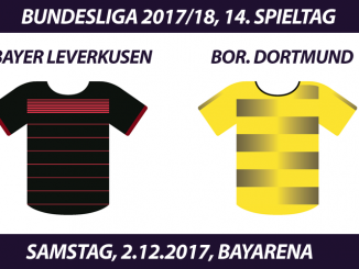 Bundesliga Tickets: Bayer Leverkusen - Borussia Dortmund, 2.12.2017