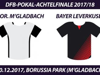 DFB-Pokal Tickets: Borussia Mönchengladbach - Bayer Leverkusen, 20.12.2017