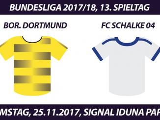 Bundesliga Tickets: Borussia Dortmund - FC Schalke 04, 25.11.2017 (Revierderby)
