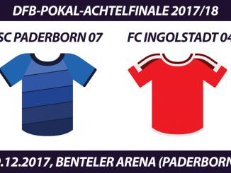 DFB-Pokal Tickets: SC Paderborn 07 - FC Ingolstadt 04, 19.12.2017