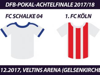 DFB-Pokal Tickets: FC Schalke 04 - 1. FC Köln, 19.12.2017