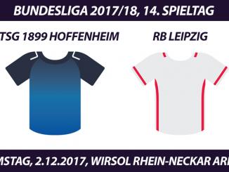 Bundesliga Tickets: TSG 1899 Hoffenheim - RB Leipzig, 2.12.2017