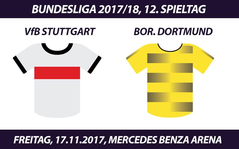 Bundesliga Tickets: VfB Stuttgart - Borussia Dortmund, 17.11.2017