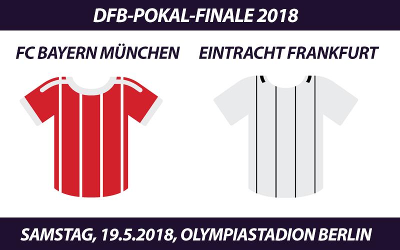 DFB-Pokal Tickets: FC Bayern - Eintracht Frankfurt, 19.5.2018 (Finale)