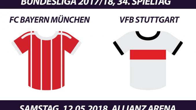 Bundesliga Tickets: FC Bayern München - VfB Stuttgart, 12.5.2018