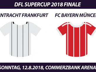 DFL Supercup 2018 Tickets: Eintracht Frankfurt - FC Bayern, 12.8.2018