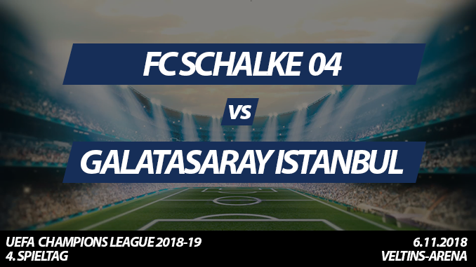 Champions League Tickets: FC Schalke 04 - Galatasaray Istanbul, 6.11.2018