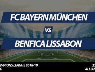 Champions League Tickets: FC Bayern - Benfica Lissabon, 27.11.2018