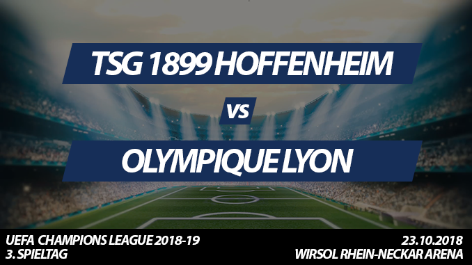 Champions League Tickets: TSG 1899 Hoffenheim - Olympique Lyon, 23.10.2018