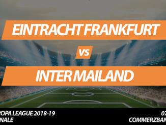 Europa League Tickets: Eintracht Frankfurt - Inter Mailand, 7.3.2019 (Achtelfinale)