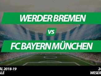 DFB-Pokal Tickets: Werder Bremen - FC Bayern München, 24.4.2019