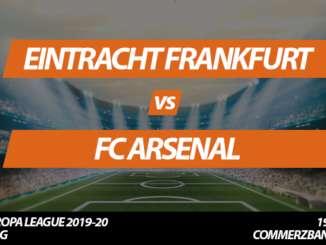 Europa League Tickets: Eintracht Frankfurt - FC Arsenal, 19.9.2019